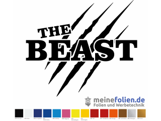 Aufkleber The Beast JDM Sticker