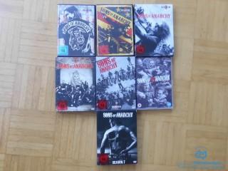 Sons of Anarchy vollständige Serie 7 Staffeln