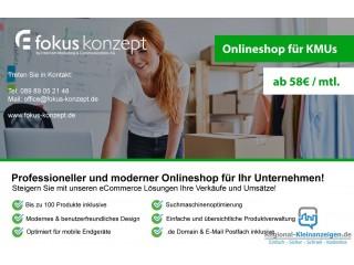 Webshop für KMUs - Online Marketing Agent