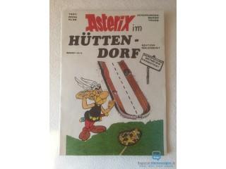 Asterix im Hüttendorf