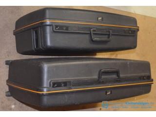 2 DELSAY Schalenkoffer VISA