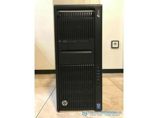 HP Z840 Workstation, mit 2x Intel® Xeon® E5-2620 v3 2.4GHz, 64GB RAM