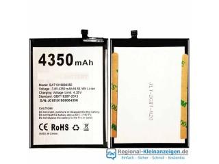 Hochwertige Ersatzbatterie für Doogee BAT1919084350 (3.8V/4.35V, 4350mAh/16.53WH)