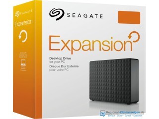 "Seagate Expansion Festplattengehäuse, externes Gehäuse für 3,5"" HDD SATA-3 SATA-600 SATA-6G USB 3.0"