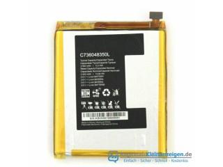 Hochwertige Ersatzbatterie für BLU C736048350L (3.8V/4.35V, 3400mAh/12.92WH)