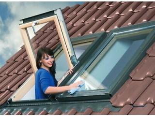 SKYFENSTER Dachfenster OPTILIGHTmit Eindeckrahmen + Rollo Gratis!