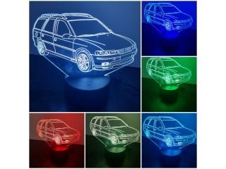 Opel Vectra B-LED-Dekoleuchte sehr Dekorativ mit Farbwechsel in 7 Farben