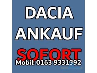 Autoankauf Dacia   Unfallwagen  Motorschaden  ohne TÜV