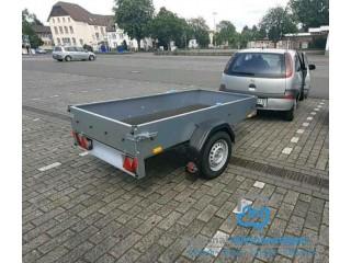 Anhänger,Tieflader ideal für Quad und PKW Neufahrzeug