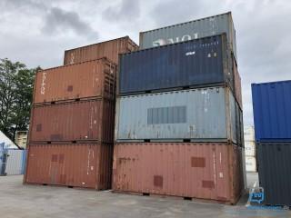 Gebrauchte Seecontainer - 20 Fuß (6 m) - Lagerung