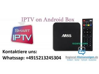 Android TV Box mit Alle TV Sender